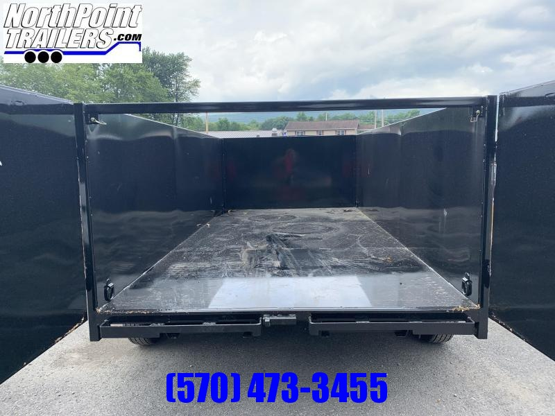 "2021 CAM Advantage 7x14 - 14K Dump Trailer - 44"" HIGH SIDES"