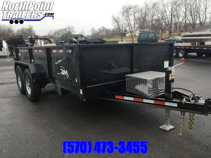 2021 CAM Advantage 7x14 - 14K Heavy Duty Dump Trailer