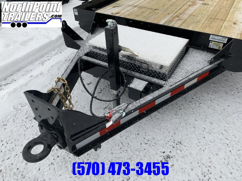 2021 CAM - 20' ANGLE FRAME - 12K GVWR Equipment Trailer