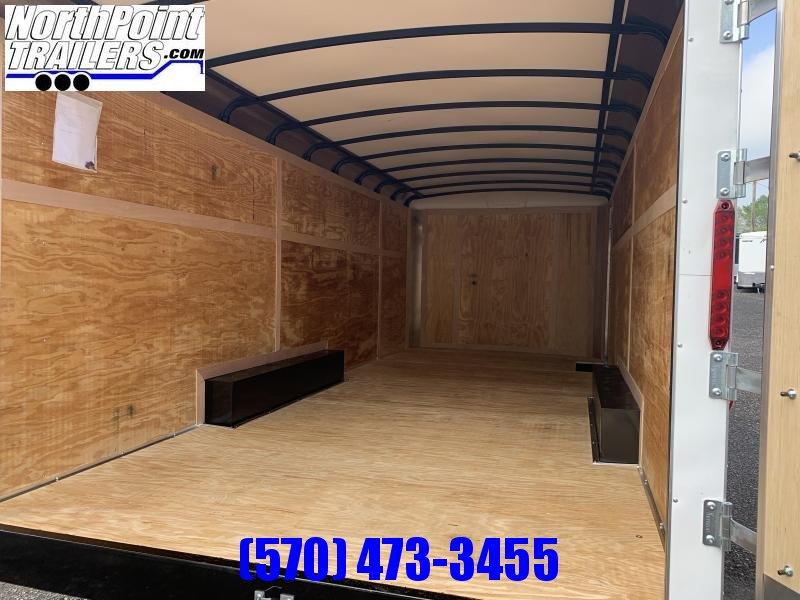 2021 Homesteader 8.5x20 Challenger Trailer_DBL Doors - WHITE - 5.2k Axles