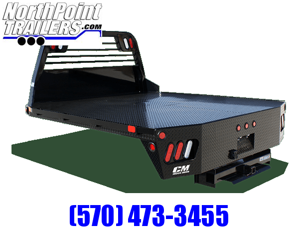 """CM RD Truck Bed - 97"""" x 8' 6"""" - DRW Long Bed - 42"""" Frame Rail"""