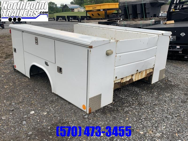 """2021 Knapheide USED Service Body - 60"""" C/A Cab & Chassis"""