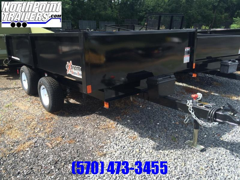 2021 XRT-418 Dump Trailer - One-Piece gate