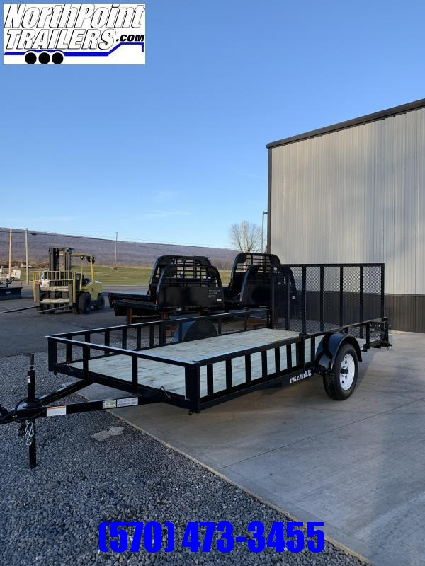 2021 Premier Trailers Inc. 102 x 12 Utility - ATV Trailer