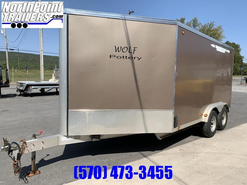 2009 Worthington 7.5x12+6 Sled Trailer Snowmobile Trailer