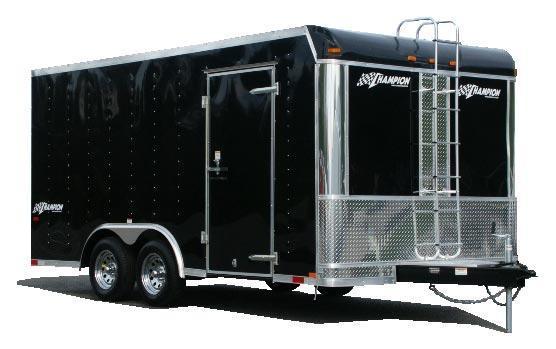 2021 Homesteader 8x16 Champion - 9950GVWR - Silver - 7' Interior - Ramp Door