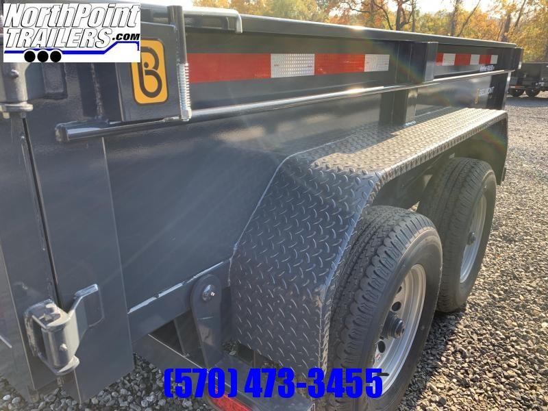 2022 Belmont 6x10 Dump Trailer - 10K w/ Ramps Dump Trailer - BLACK