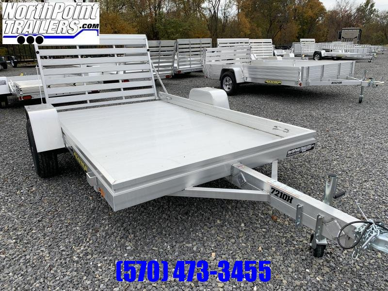 2020 Aluma 7210H Aluminum Utility Trailer