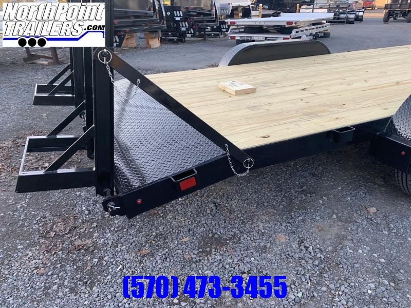 2021 Belmont CH820-10K - BLACK - 2' Tail with Stand-up Ladder Ramps