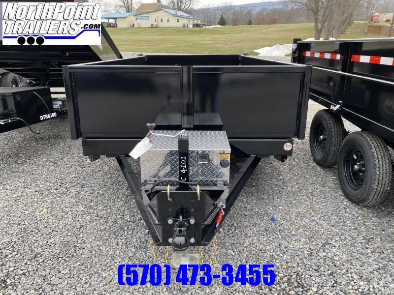 2021 Cam Superline 6x12 Low Profile - 9900# GVWR w/ Ramps Dump Trailer