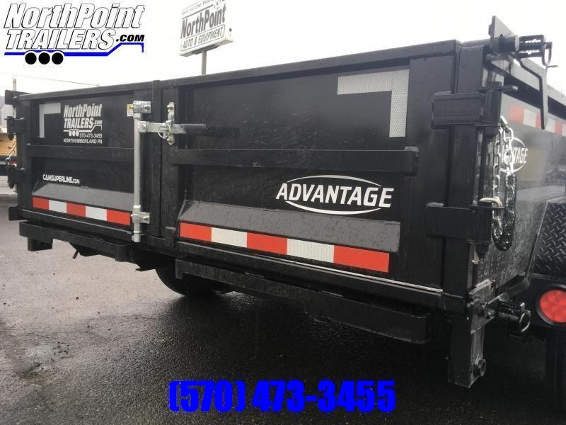 2022 CAM Advantage 7x14 - 14K Heavy Duty Dump Trailer