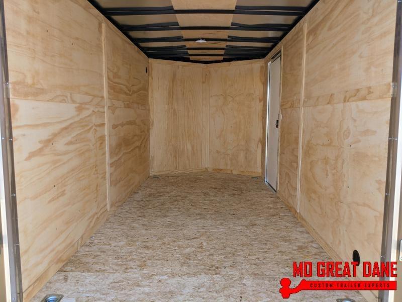 "2021 Darkhorse Cargo 7 x 14 - 84"" Interior V-Nose Cargo / Enclosed"