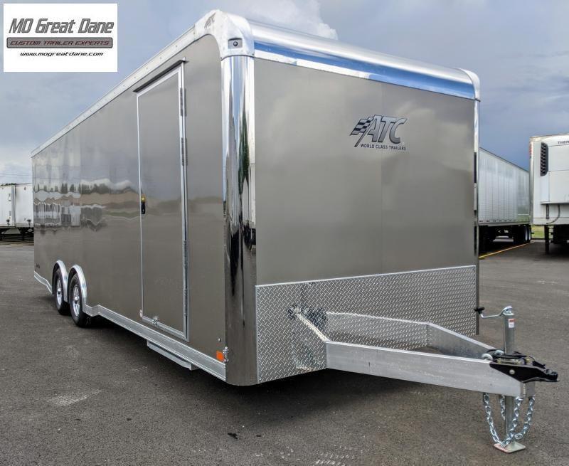 2022 ATC 8.5 x 24 Raven Limited Aluminum Car / Racing Trailer (EXP. COMPLETION SEPTEMBER)