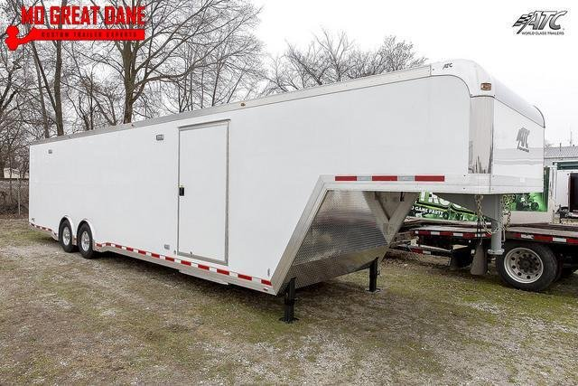 2021 ATC QUEST 8.5 x 40 CH305 Gooseneck Aluminum Car / Racing Trailer EXPECTED COMPLETION JULY