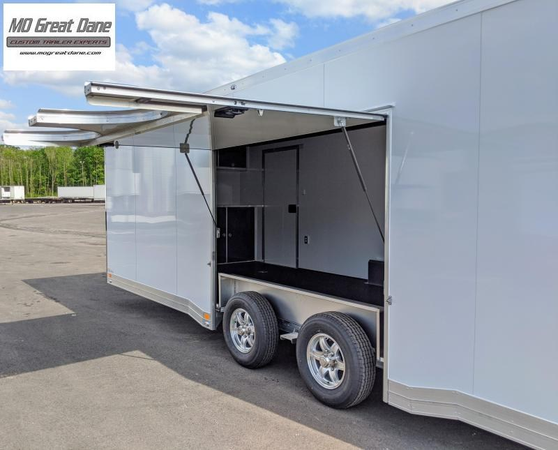 2022 ATC QUEST 8.5 x 40 CH305 Gooseneck Aluminum Car / Racing Trailer EXPECTED COMPLETION DECEMBER