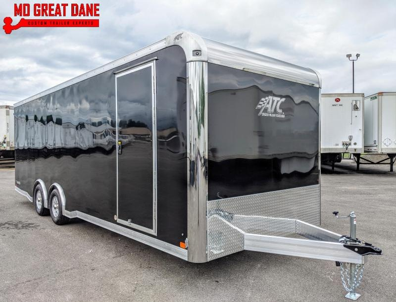 2021 ATC RAVEN 8.5 x 24 Aluminum Car / Racing Trailer EXPECTED COMPLETION MARCH