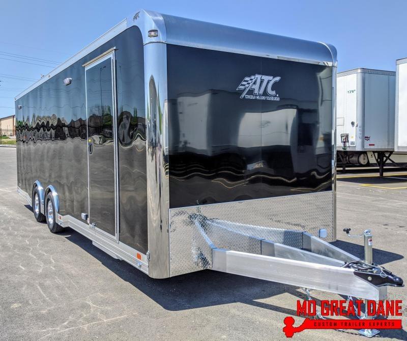 2021 ATC QUEST 8.5 x 24 305CH Car / Racing Trailer