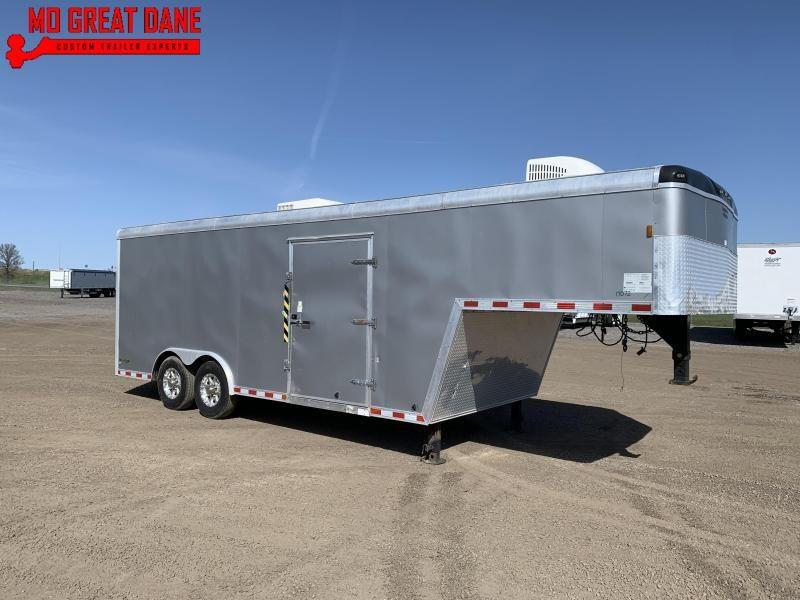 2018 Used Enclosed Gooseneck Cargo / Race Trailer Enclosed Cargo Trailer
