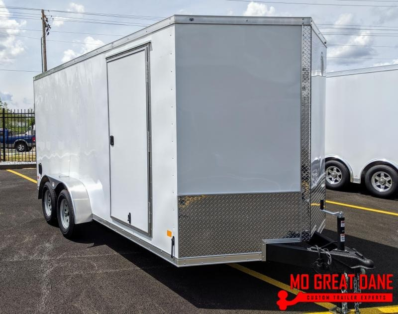 2021 Darkhorse Cargo 7 x 16 V-nose Cargo / Enclosed