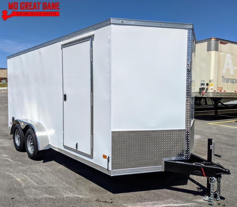 2021 Darkhorse Cargo 7 x 16 V nose 78 Interior Cargo Enclosed