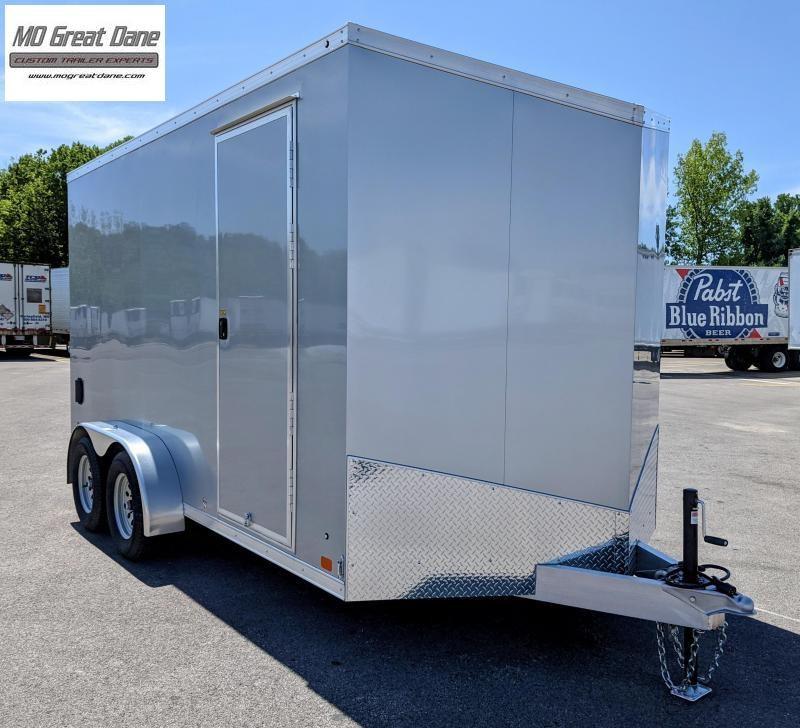 2022 ATC 7 x 14 Raven Aluminum Cargo / Enclosed Trailer