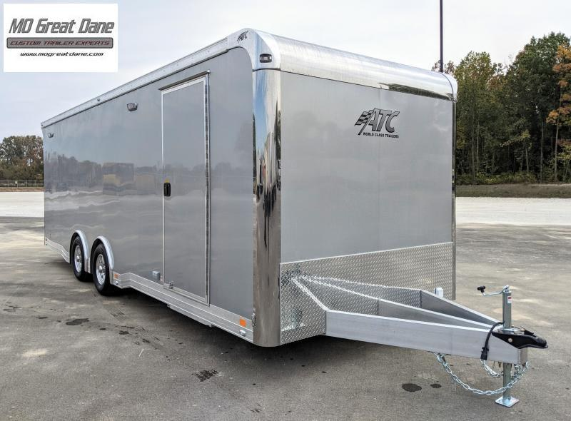 2022 ATC 8.5 x 24 Quest Limited Deluxe (CH405) Aluminum Car / Racing Trailer