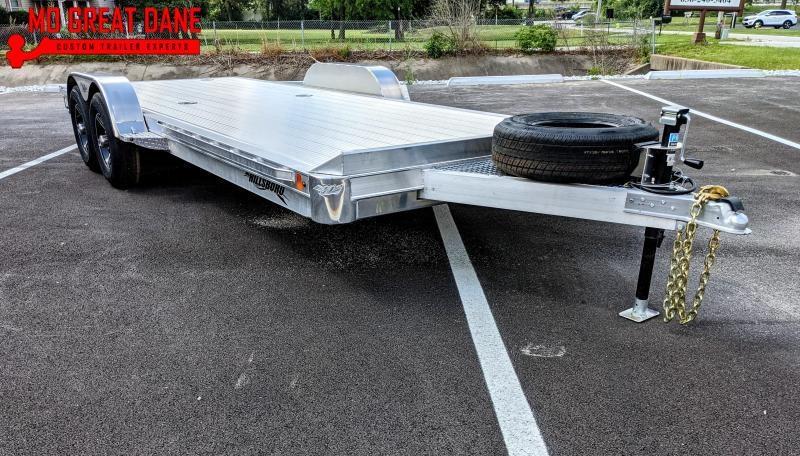 2022 Hillsboro Industries CH20HD Aluminum Open Car / Racing Trailer