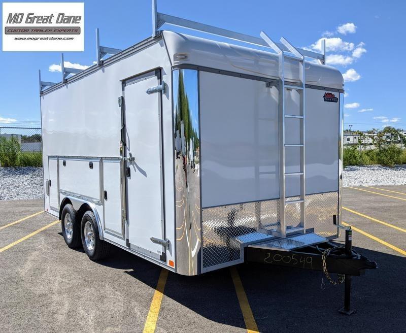 2022 United Trailers UXT-8.5 x 16 Tool Crib Enclosed Cargo Trailer
