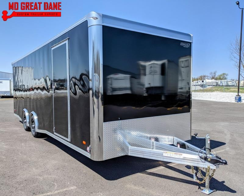 2021 Bravo Trailers Silver Star Aluminum Car / Racing Trailer