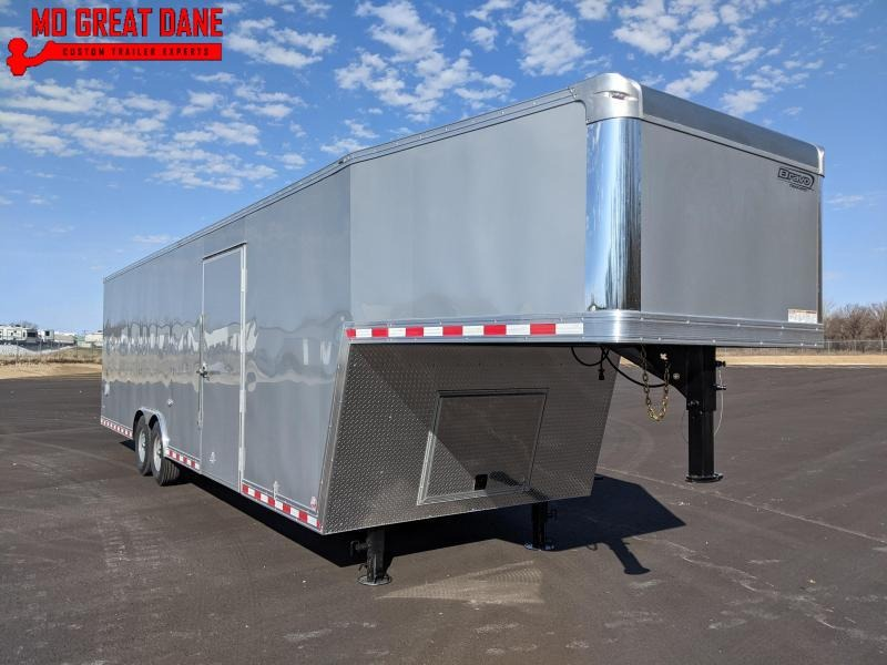 2021 Bravo Trailers Star Gooseneck 8 5 x 36 Cargo Enclosed Trailer EXPECTED COMPLETION 4/16