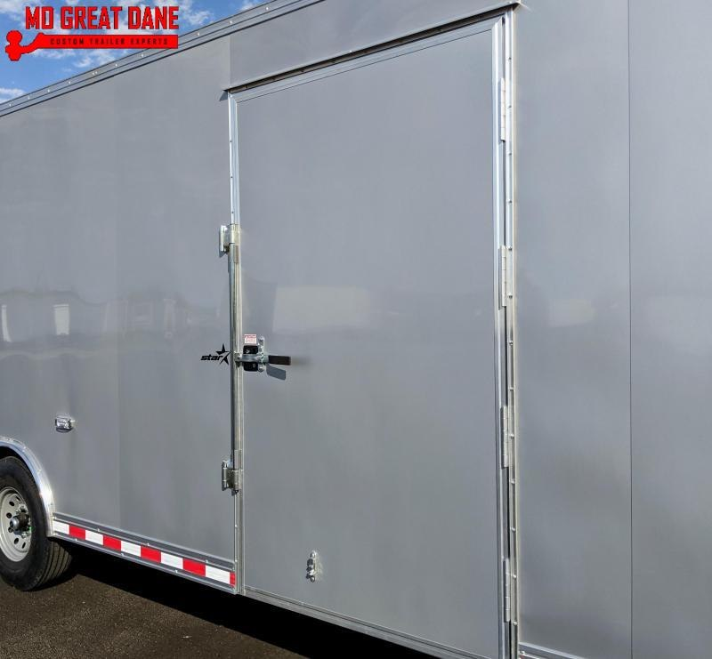 2021 Bravo Trailers Star Gooseneck 8 5 x 36 Cargo Enclosed Trailer EXPECTED COMPLETION APRIL