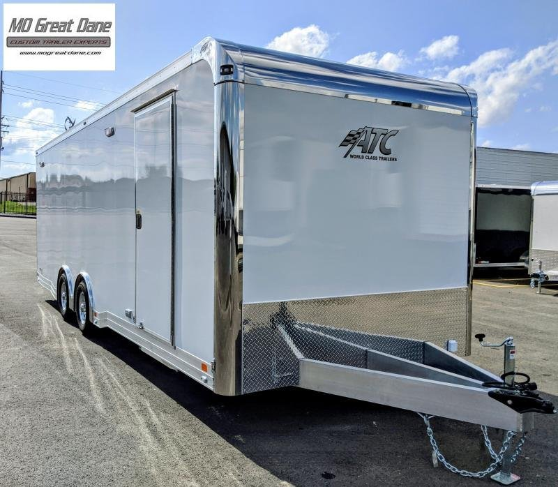 2022 ATC 8.5 x 28 Quest Limited (CH305) Aluminum Car / Racing Trailer