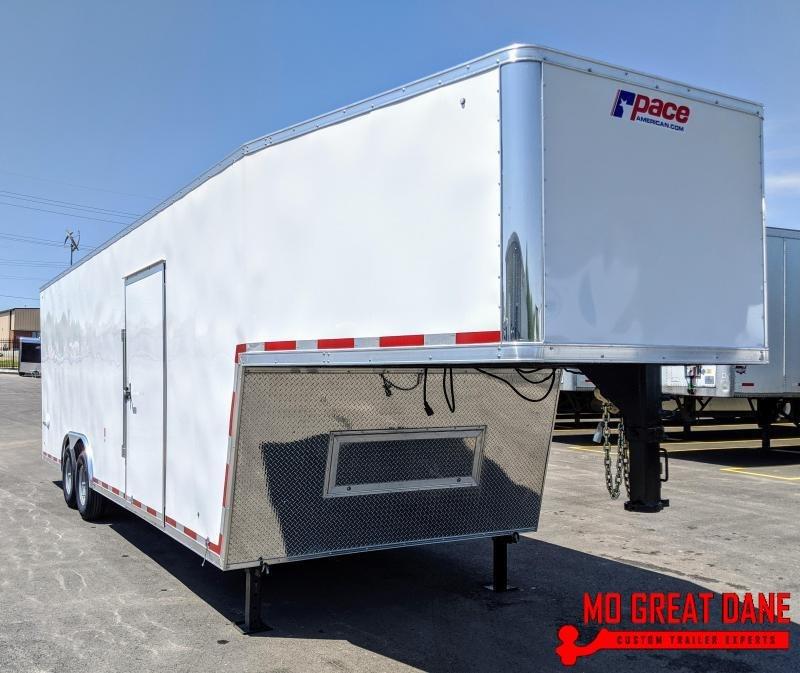 2021 Pace American Pursuit 8.5 x 32 Gooseneck Cargo / Enclosed Trailer
