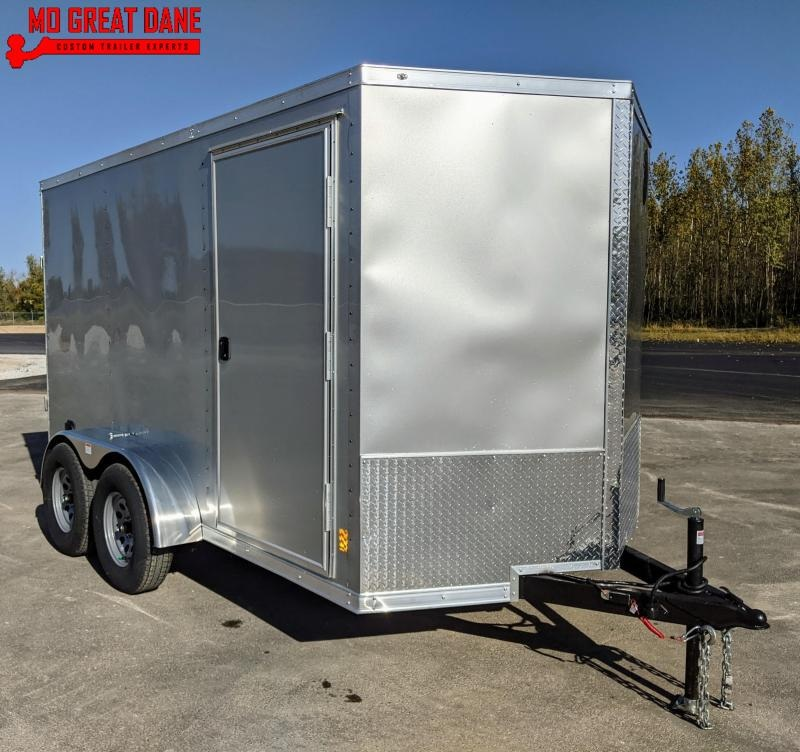 2021 Darkhorse Cargo 6.5 x 12 Tandem V-Nose Enclosed Cargo Trailer
