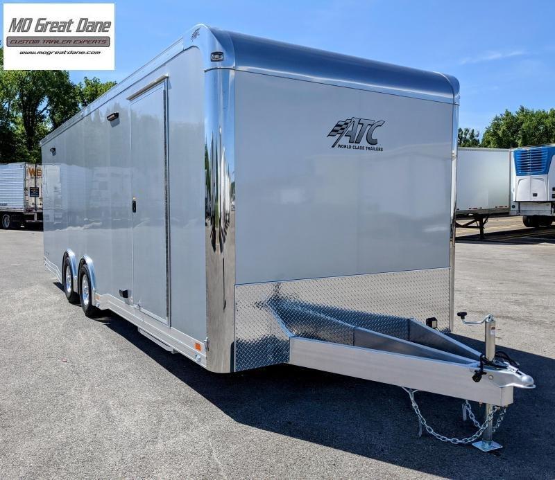 2022 ATC 8.5 x 24 Quest Limited Aluminum Car / Racing Trailer EXP COMPLETION DECEMBER