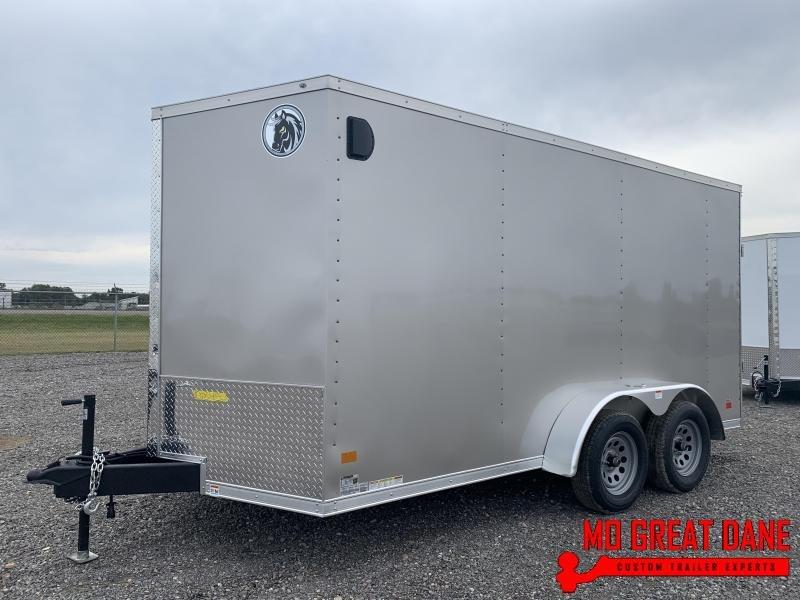 2021 Darkhorse Cargo 7 x 14 V nose 78 Interior Cargo Enclosed