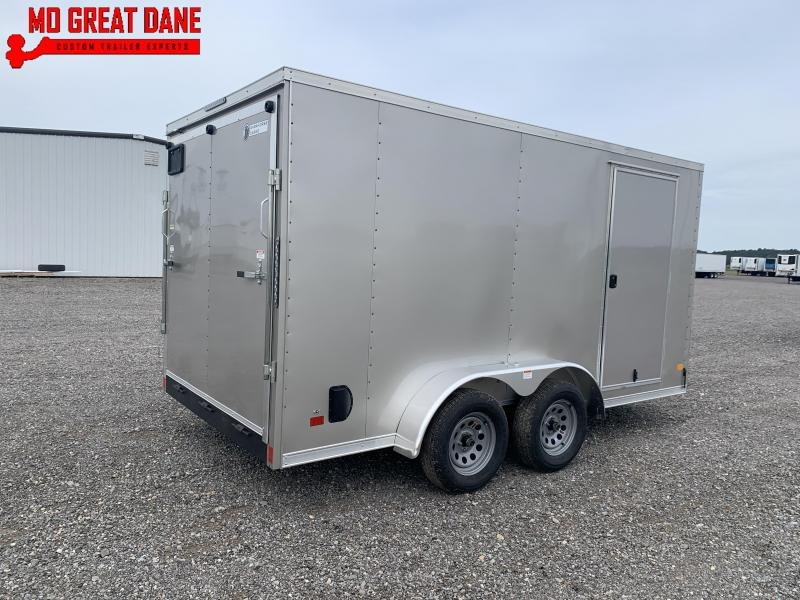 2021 Darkhorse Cargo 7 x 14 V nose 78 Interior Cargo Enclosed