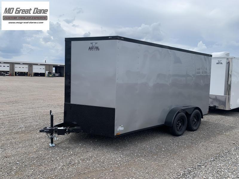 2021 Anvil 7X14 Tandem Enclosed Cargo Trailer