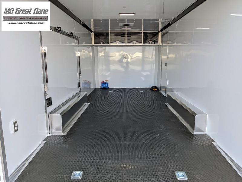 2022 ATC 8.5 x 20 Quest Limited Aluminum Car / Racing Trailer EXP COMPLETION OCTOBER - White