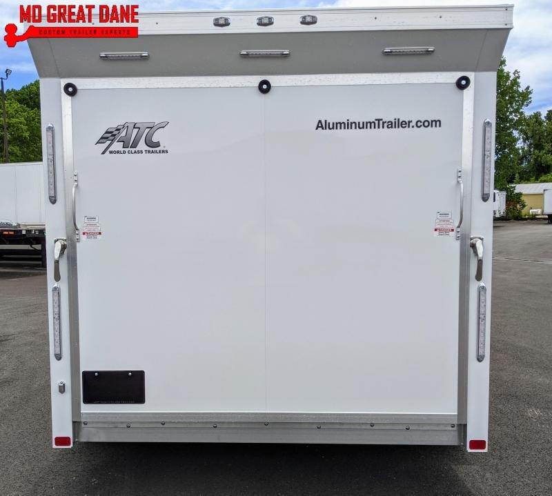 2021 ATC QUEST 7.5 x 14 MC300 Aluminum Motorcycle Trailer EXP COMPLETION FEBRUARY