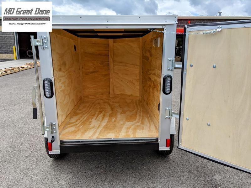 2021 Anvil 4X6 SA Economy Enclosed Cargo Trailer