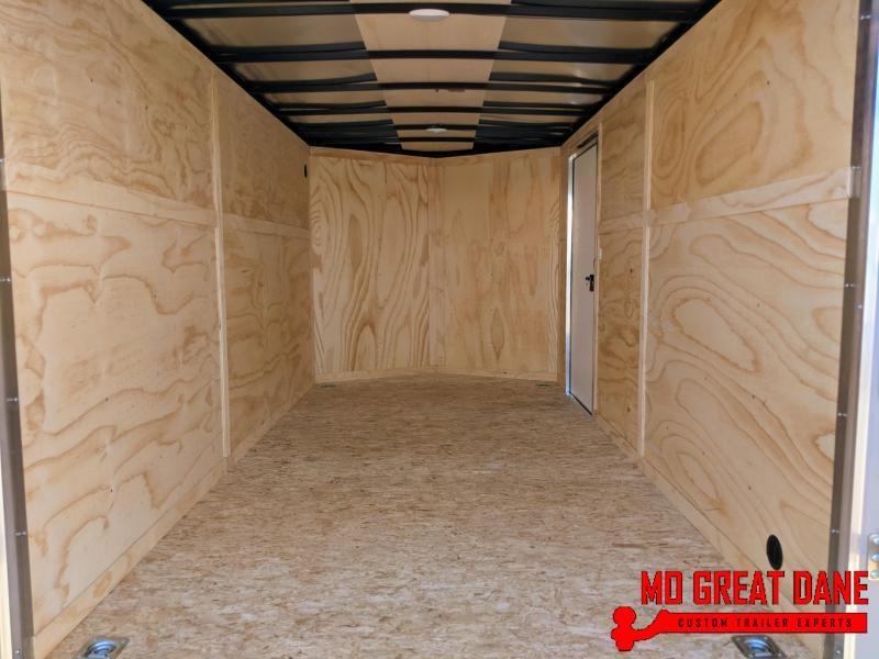 "2021 Darkhorse Cargo 7 x 14 - 78"" Interior V-Nose Cargo / Enclosed"