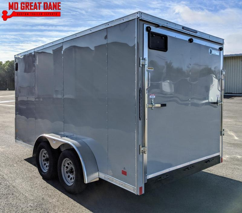 "2021 Darkhorse Cargo 7 x 14 - 78"" Interior V-Nose Cargo / Enclosed"