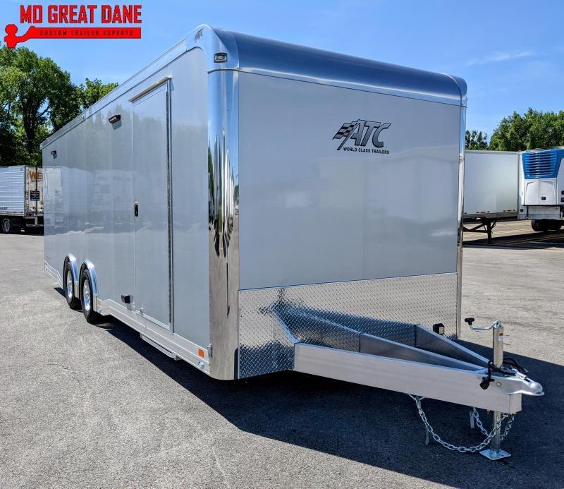 2022 ATC 8.5 x 24 Quest Limited (CH305) Aluminum Car / Racing Trailer EXP COMPLETION JUNE