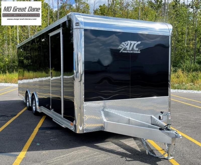 2022 ATC 8.5 x 24 Quest Limited Aluminum Car / Racing Trailer - Black