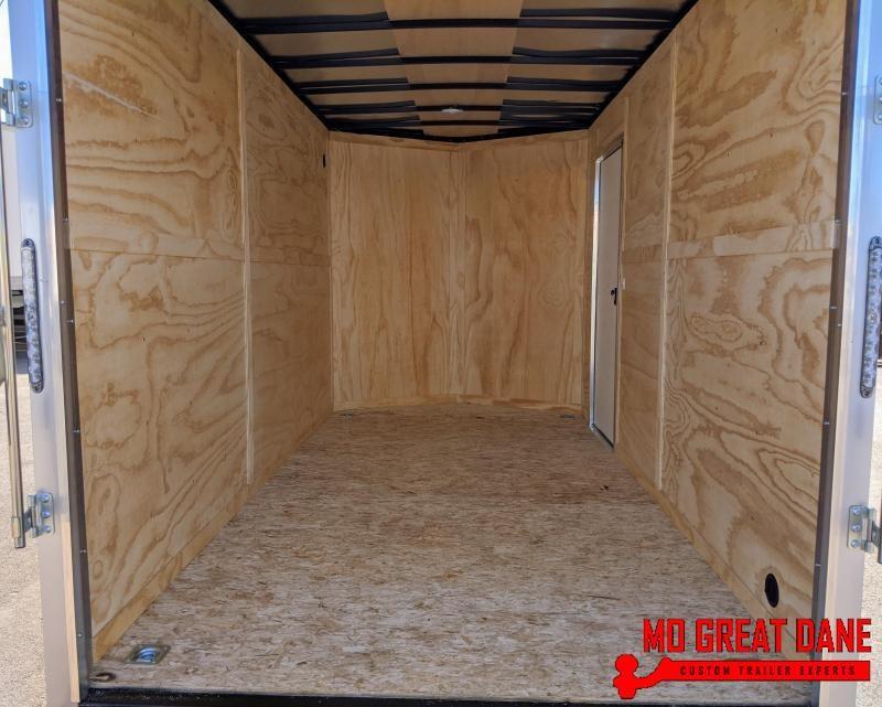 2021 Darkhorse Cargo 7 x 14 90 Interior V Nose Cargo Enclosed