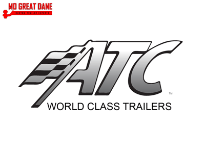 2021 ATC QUEST 8.5 x 26 ST305 Black Out Trim Stacker Trailer