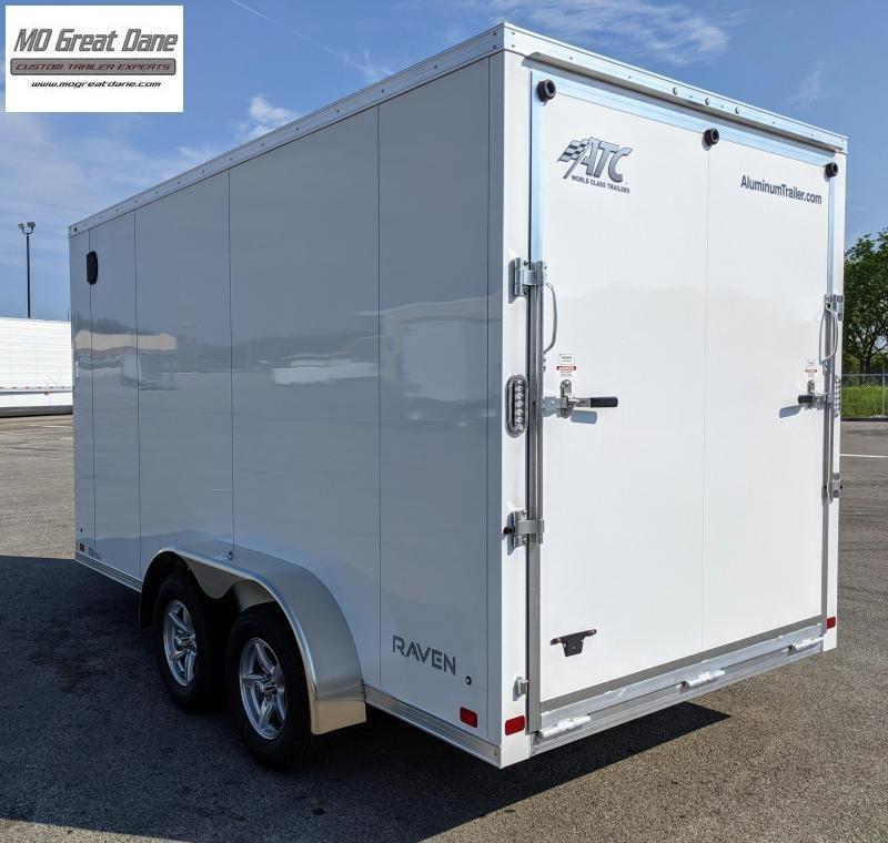 2022 ATC 7 x 14 Raven Cargo Aluminum Cargo / Enclosed Trailer