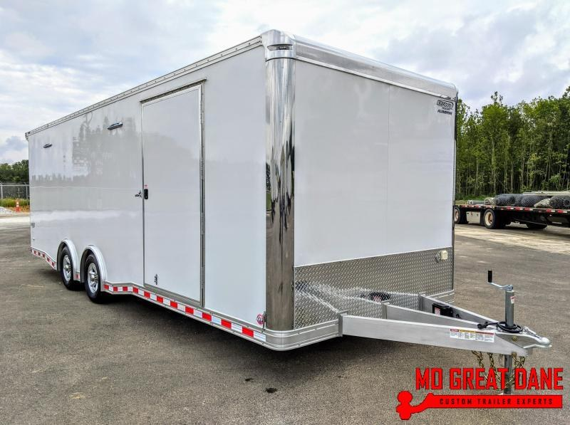2020 Bravo Trailers Star Aluminum 8.5 x 24 Car / Racing Trailer