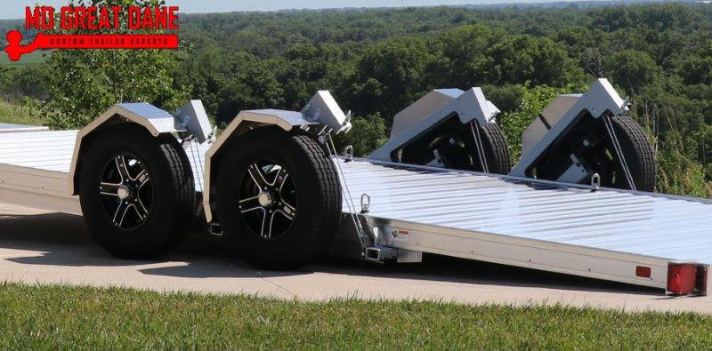 2022 TIMPTE 1020LSEZ Aluminum Open Car / Racing Trailer